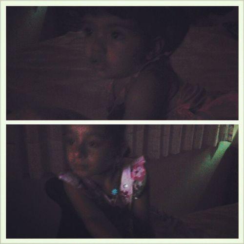 Baby cousins making a mess in my room :') Had to put them cartoons but guess what? It didn't Work xD lmfao. Mia Nathalia Babycousins BabyMia BabyNathalia cute adorable tanbellas iwannaeatthemup lovethem socute hermosas melacomoabesito ayperoquelindas
