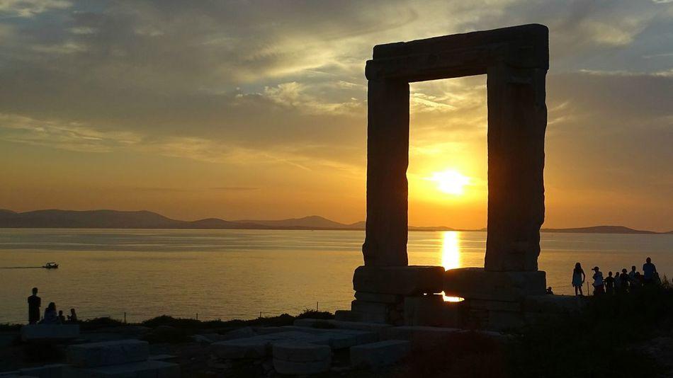Naxos_island Naxos. Greece Greece Sunset Sunrise Chora Apollo Temple Apollonas Naxos Apollo Sea And Sky Discoverychannel Travel Travel Photography Tranquility Greek Islands Greek Symbols Greekarchitecture Greek Mythology
