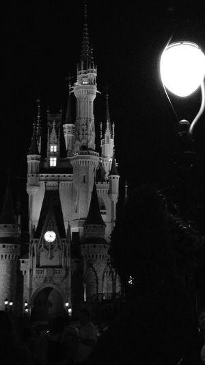 Magic Kingdom DisneyWorld Disney Castle Architecture Illuminated Outdoors Happiestplaceonearth The Traveler - 2018 EyeEm Awards