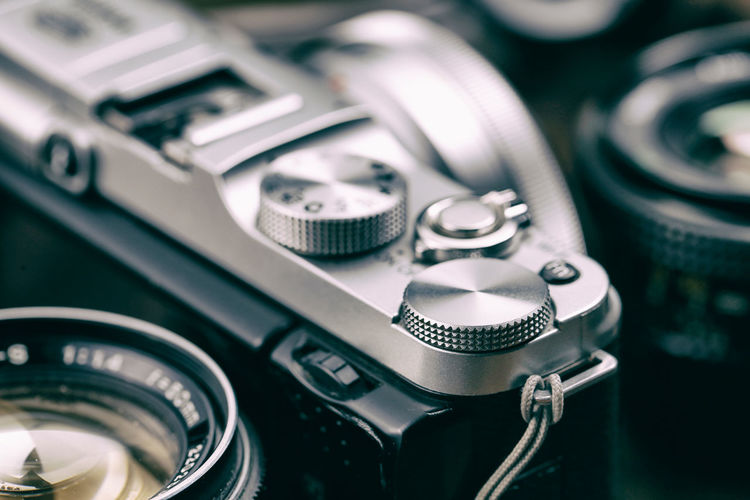 Camera - Photographic Equipment Close-up Day Electronics Industry Gear Indoors  Metal No People Old-fashioned Photography Themes Selective Focus Technology First Eyeem Photo