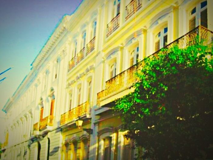 Hello World Relaxing Enjoying Life Golden Holiday♡ Architecture At PuertoRico Seeing The Sights Brick Building Brick And Mortar Urbanphotography Fireescapes From My Point Of View Architecture Photography Outdoor Windows Colorsplash Taking Photos Yellow Hanging Out The Street Photographer - 2016 EyeEm Awards