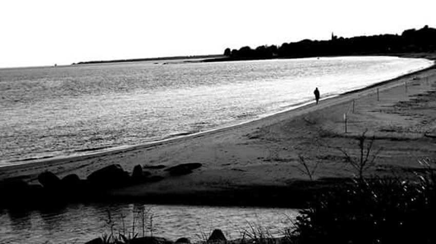 Harkness State park was a beautiful evening. Black And White Collection  Black & White Light And Shadow Capturing Freedom Tranquil Scene Tranquility Escape Harkness State Park Waterford, CT United States