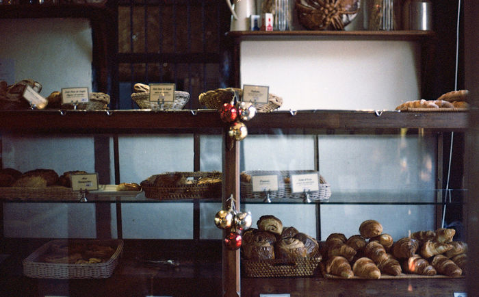 A French bakery & cafe in Luang Prabang, Laos 35mm Film Agfa Vista200 Agfavista200 Analog Camera Analogue Photography Bakery Buy Film Not Megapixels CanonA1 Croissants Film Is Not Dead Film Photo Film Photography Filmisnotdead For Sale Laos Laungprabang Luangprabang No People