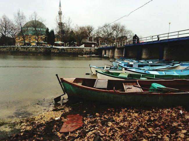 Boat Boat In Water Island GÖLYAZI Bursa Turkey