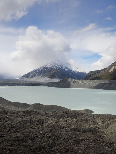 EyeEm Landscape_Collection New Zealand Beauty New Zealand Scenery Tasman Glacier Beauty In Nature Cloud - Sky Cold Temperature Day Lake Landscape Mountain Mountain Range Nature New Zealand No People Outdoors Scenics Sky Snow Snowcapped Mountain Tasman Lake Tranquil Scene Tranquility Water Waterfront Wilderness