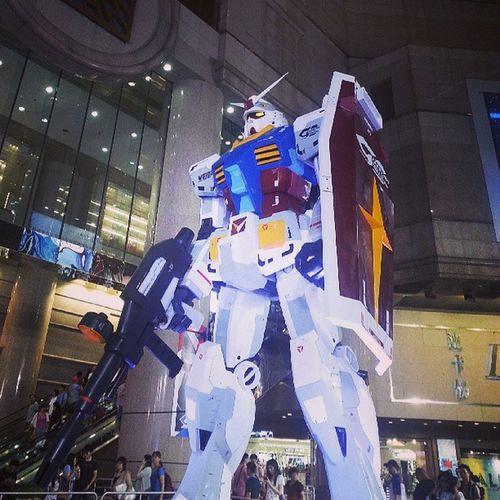 Rx -78 Gundam Timesqaure HongKong cwb
