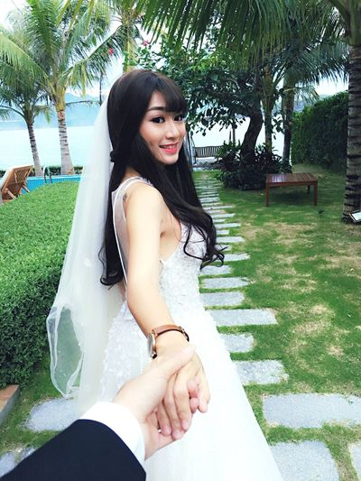 Bridal Followme ❤️ Happiness Smiling Holdmyhand Mywedding