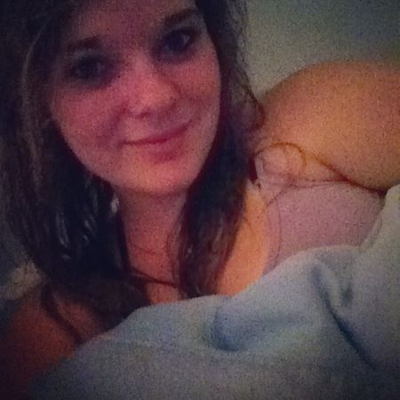 Long day! Showered up, cuddles with my pillow, & late night movies! PillowCuddles NotTheBest Whatevs Movies smile selfie summernights happy blueeyes bored life