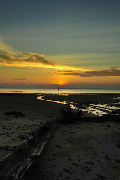 Sunset view from Mawar Beach - Barelang - Batam - Indonesia Hinterland Landscape Landscape #Nature #photography Landscape_Collection Landscape_photography Landscapes Nature Photography Outdoors Photography Reflection_collection Sunset Sunset Silhouettes Sunset_collection