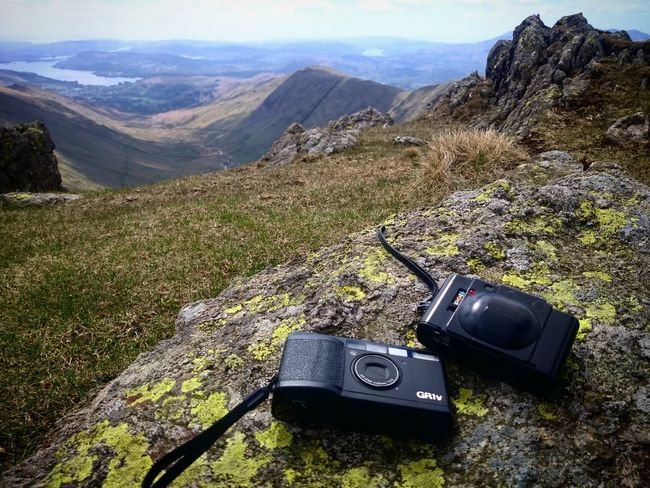 My favourite two compacts: my Olympusxa and my Gr1v during a quick stroll in the Lakedistrict a few weeks ago. Believeinfilm Filmphotography Film 35mm
