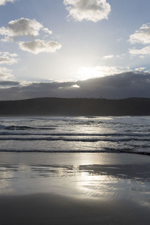 Australia Travel Beach Beauty In Nature Cloud - Sky Idyllic Land Nature No People Non-urban Scene Outdoors Reflection Remote Scenics - Nature Sea Sky Sunlight Sunset Tranquil Scene Tranquility Travel Destinations Water