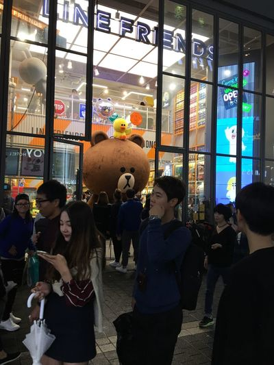 Women Leisure Activity Real People Men Medium Group Of People Lifestyles Indoors  Night Crowd Architecture People Adult Line Friends Store