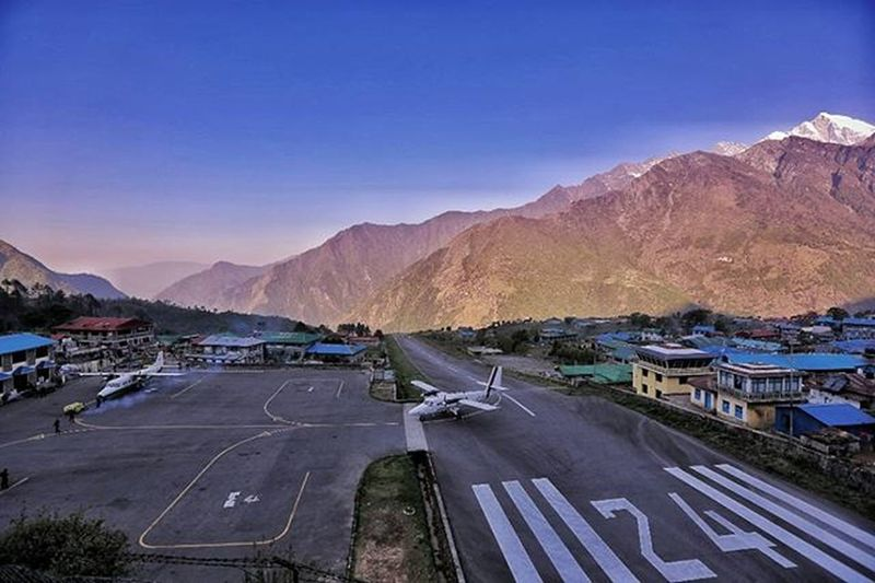 Lukla, one of the most dangerous airports in the world. But somehow it reminds me of Papua highland on Timika, Indonesia. Lukla Nepal Himalaya Dktm Alldayexploring Adventurevisuals Travel2next 30xthirty Zerogrid Myfeatureshoot Worlderlust Worldtravelpics Modernoutdoorsman Exploretocreate Earthfocus Choosingmountains Awesome_photographer Expedition Airasiapotw Insta_travels Ikece Ngetrip Mountainesia Instapendaki Pendakiindonesia kerengan mainsebentar