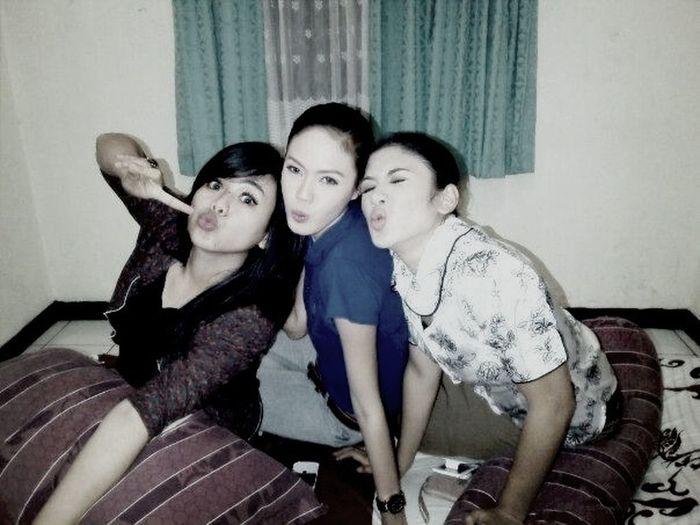 With Della N Ka Shasya At Lokasi TSM Cibubur
