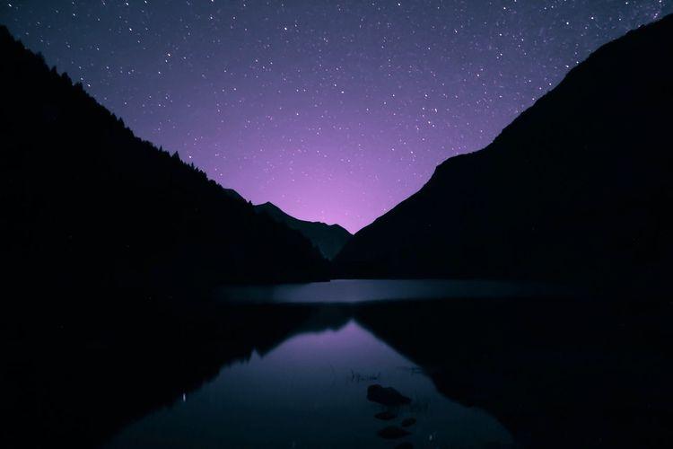 Free mountain • 🌌 Canon Creative Freelancephotographer Long Exposure Nightphotography France Pirineos