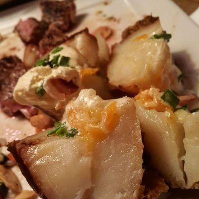 먹스타그램 먹방 스테이크 감자