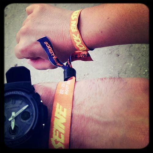 C est parti pour 3 jours :D Rock En Seine Music Festival Rock Concert Live Music