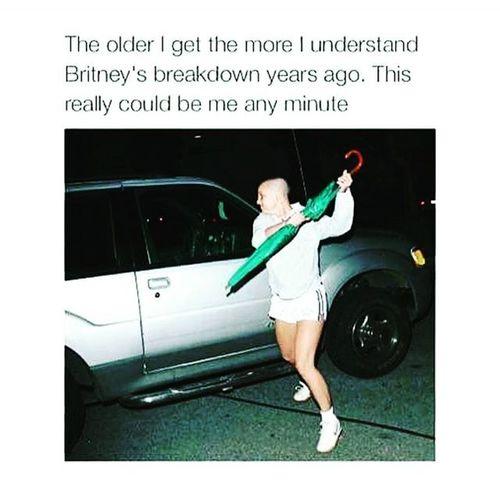 Forreal Mentalbreakdown Britney Britbrit Mentalhealth  Handmethatumbrella Passmetheclippers Nojoke