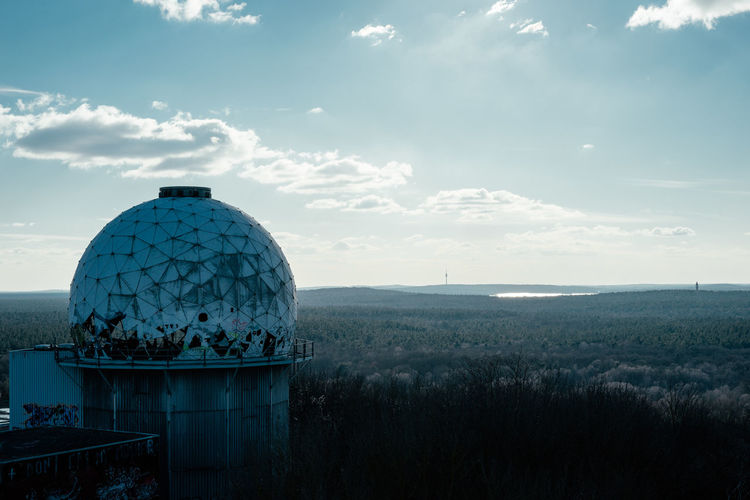 Architecture Berlin Lost Place Nature Teufelsberg Berlin Cloud - Sky Day Forest Horizon Lost Places No People Outdoors Sky Teufelsberg