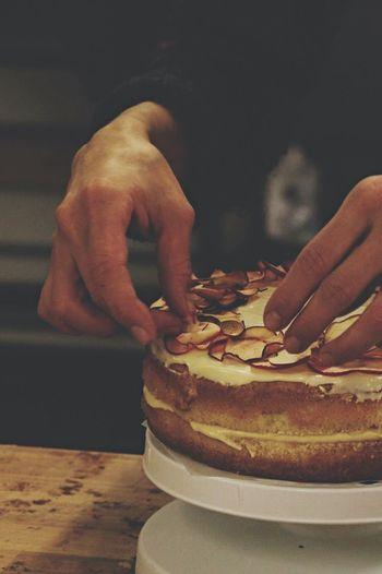 toffee apple cake Baking Bakery Foodphotography
