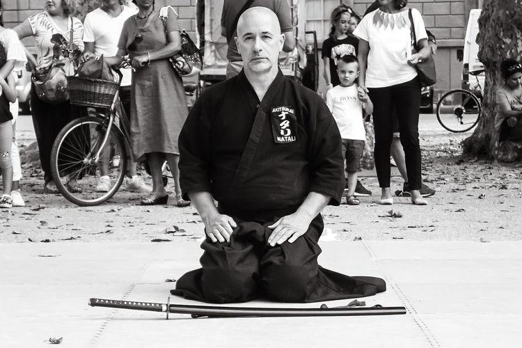 Iaido Martial Art Samourai Japan Sword Katana Iaido Martial Arts Japan Thai Chi Japanese Art Japan Martial Art Samurai Shogun Sword Men People Real People