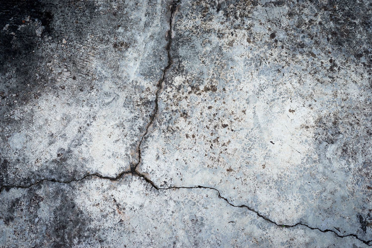Abstract Abstract Backgrounds Architecture Backgrounds Close-up Concrete Cracked Day Directly Above Full Frame Gray High Angle View Marble Marbled Effect Nature No People Outdoors Pattern Rough Solid Stone - Object Stone Material Textured  Textured Effect Weathered