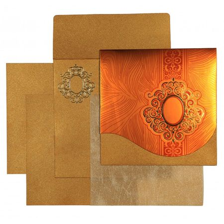 The beauteous designs of Hindu Wedding Cards, General are sure to offer you a delightful treat. The ultimate selection of gold,orange color is certainly the best fit for the wedding card. The card has been constructed out of fine shimmer paper that assures a great quality and look. Visit Here to Buy @ https://www.a2zweddingcards.com/card-detail/AW-1549 Hindu Cards Hindu Invitations Hindu Wedding Cards Hindu Wedding Invitation Cards Hindu Wedding Invitations Indian Wedding Cards Indian Wedding Invitations Wedding Cards Wedding Invitations