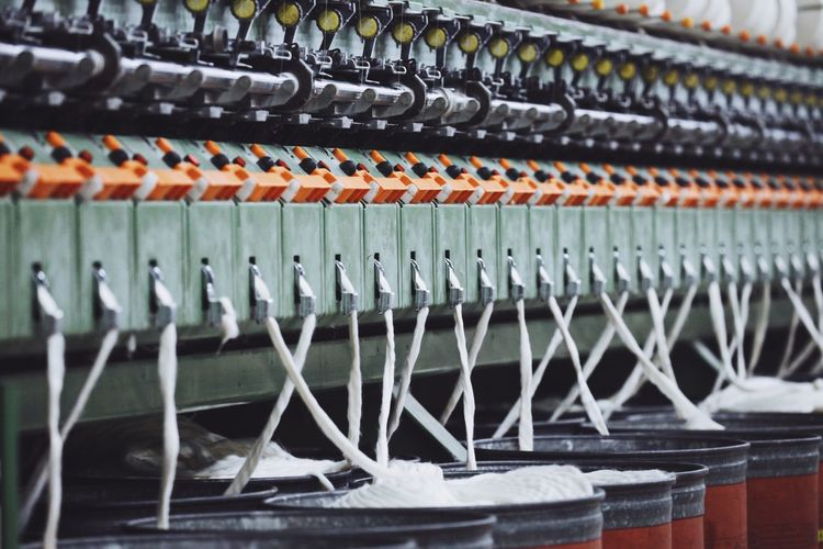 No People Close-up Indoors  Day Machinery Textile Textile Industry Open Edit West Azarbijan Iran Mill Cotton Mill Textile Factory Textile Machinery Textile Production Cotton Textile Textile Mill Textile Fabrics Business Stories