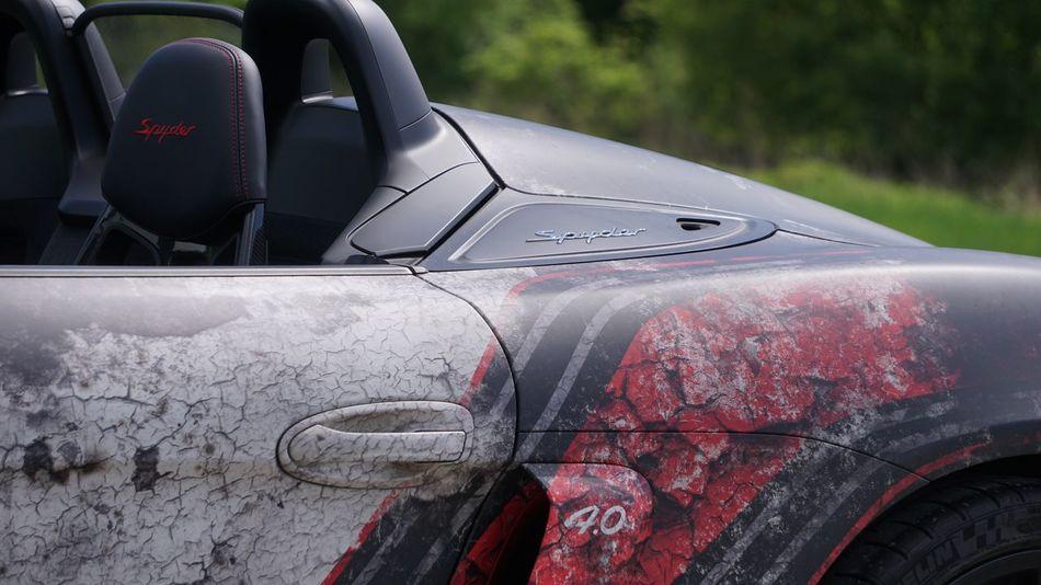 Sony A6300 Boxter  Porsche EyeEm Selects Mode Of Transportation Car Motor Vehicle Transportation Land Vehicle Red Close-up