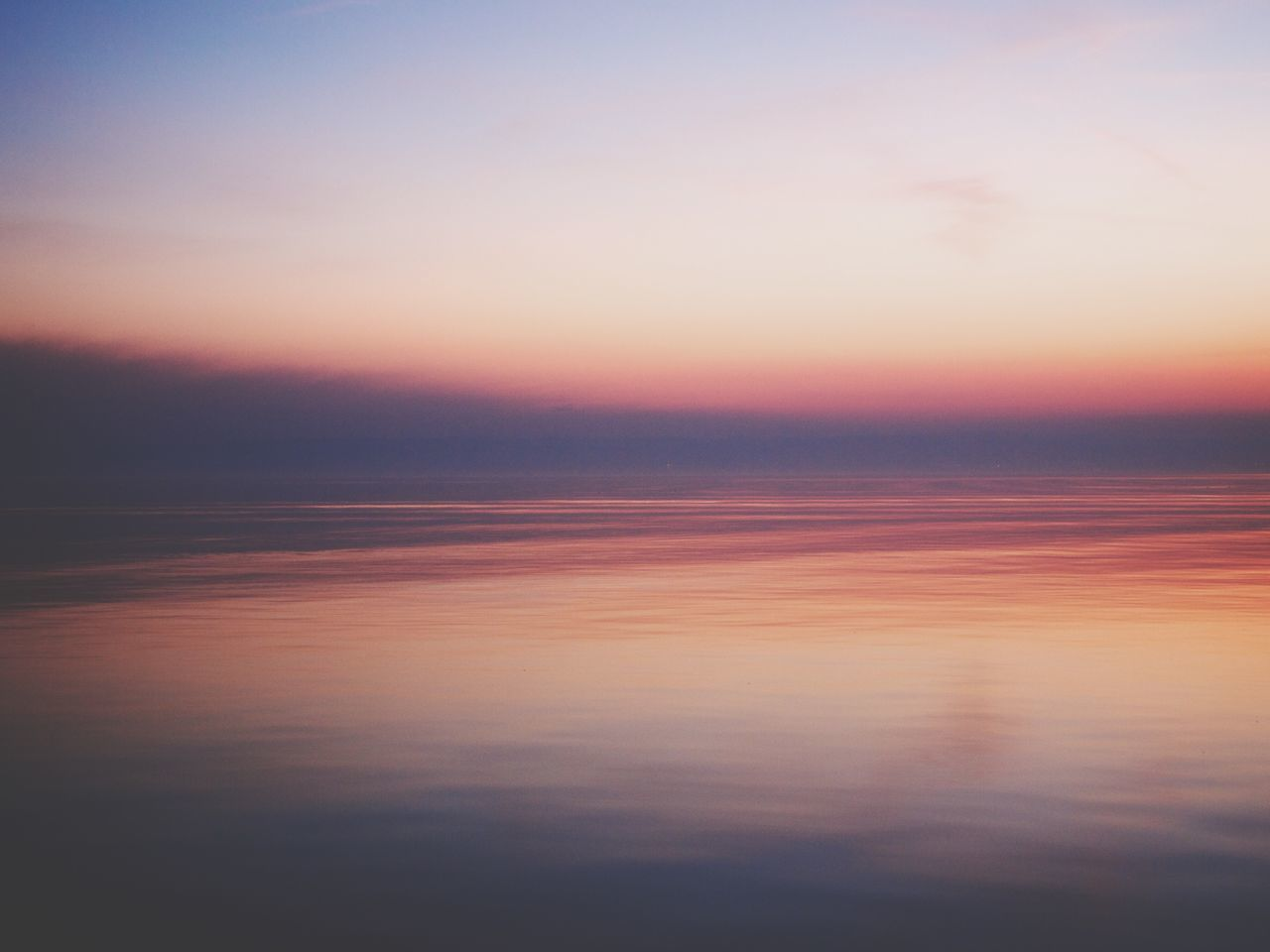 Sunset Reflecting In Water