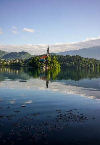 LAKE BLED Adventure Beautiful Beauty In Nature Beauty In Nature Bled Cloud - Sky Day Lake Mountain Nature Nature Nature On Your Doorstep Nature Photography Nature_collection Naturelovers One Person Outdoor Outdoor Photography Outdoors Outside Reflection Sky Slovenia Water Waterfront