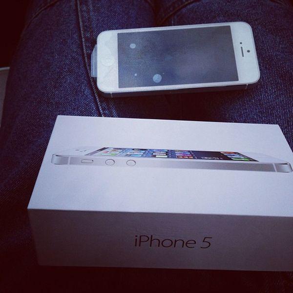 Малыш сделал себе подарок ) iPhone 5 @maloy_petrikin