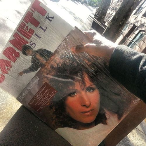Todays pickups - GarnettSilk - Its Growing, the album and BarbraStreisand - Memories compilation album. $10 for both on 7th avenue and Sterling in Parkslope Brooklyn . Roots Reggae Pop VPRecords Columbia Album Music tbf InnerCityNY