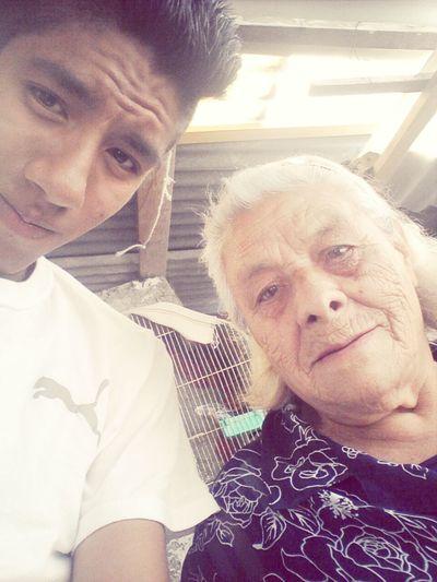 Mi boyfriend and my grandmother