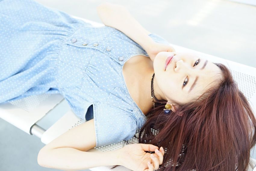 One Person Young Women Lying Down Young Adult Casual Clothing Relaxation Portrait One Young Woman Only Adult Adults Only One Woman Only Me Women Me:) EyeEmNewHere Japan Photography Japan Japanese Style Japanese  Japanese Girl Japanese Lady Lady EyeEm Best Shots EyeEm Gallery