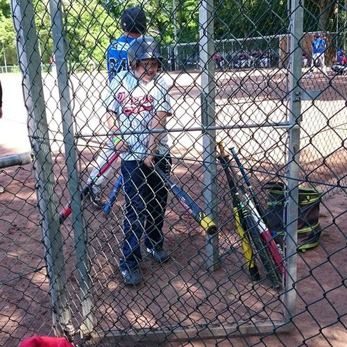 Batboy at baseball ⚾.. Baseball Game Letsplay Instasport Instamoment