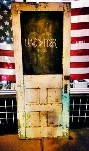 Love>Fear Door