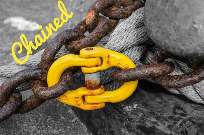 Chained: the worsed chains we have are the ones we burden ourselves with... For The Love Of Photography Manual Mode Photography Nikon D810 Chains