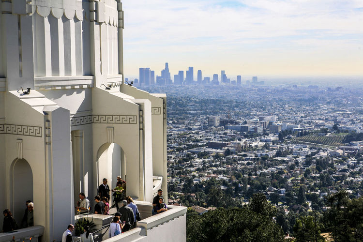 Architecture Building Exterior Built Structure California Capital Cities  City City Life Column Community Famous Place Famous Places Griffith Observatory History Human Settlement International Landmark Monument Observatory Perspective Place Of Worship Religion Residential District Tall - High Tower Travel Destinations Urban