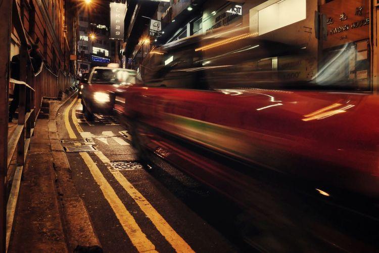 HongKong lights Speed Longexposure Nightphotography