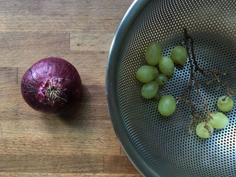 Basket Bowl Close-up Container Food Freshness Fruits Grapes Green Green Color Group Of Objects Multi Colored No People Organic Red Onion Still Life Variation Vegetable
