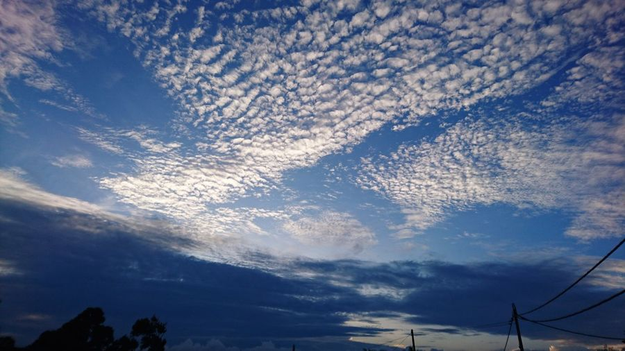 Sky Cloud - Sky Scenics Nature No People Dramatic Sky Blue Sky Scatterred Clouds