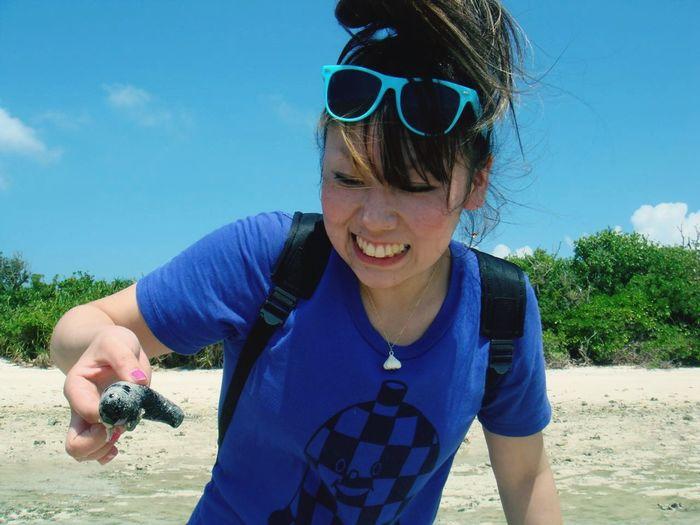 Okinawa Ishigaki Island Club Crub あれ蟹は ? Rock Wildlife Dynamiclight