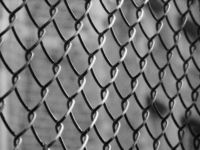 EyeEm Best Shots EyeEm Selects EyeEm Gallery EyeEmNewHere Backgrounds Barrier Boundary Chainlink Fence Close-up Crisscross Day Fence Focus On Foreground Full Frame Metal Nature No People Outdoors Pattern Protection Safety Security Selective Focus Strength Textured