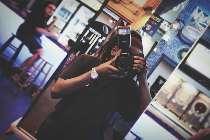 T.A.K.E & E.X.P.L.O.R.E Sitram Photo's Self Portrait