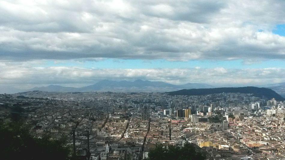 Lindo Quito de mi vida! Cityscape Cloud - Sky Urban Skyline No People Tourism City Quito Ecuador Go Higher