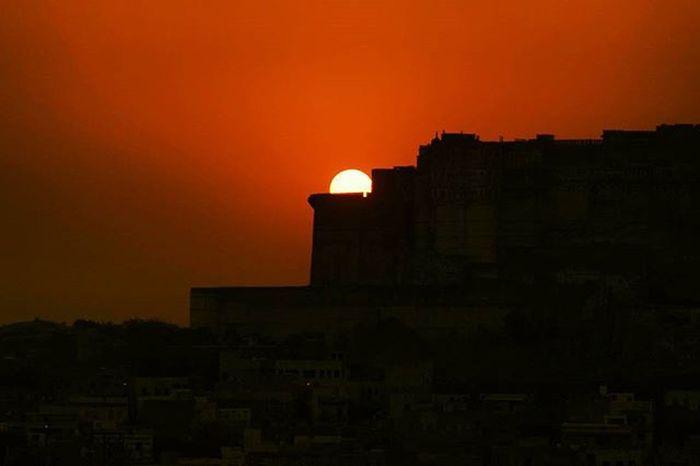 Sunrise Morningclick Jodhpur Mehrangarh Beautiful View Enjoy Photoshoot Photographie  Click_india_click Igersjodhpur Igersjaipur Wwim13 WWIM13Jodhpur Followme Followmeplease