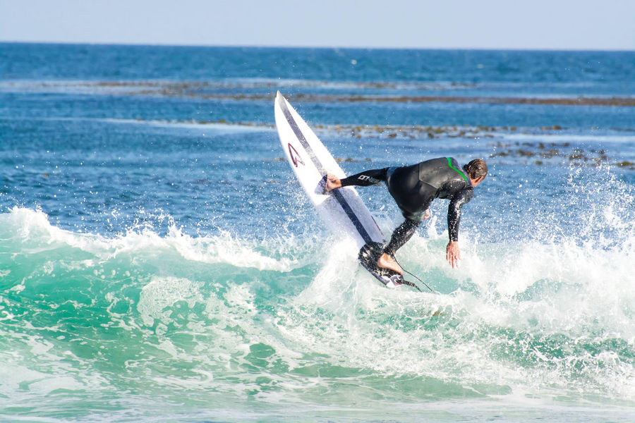 Surf Surfing Beachphotography Life Is A Beach California The Great Outdoors - 2015 EyeEm Awards Capturing Freedom Blue Wave