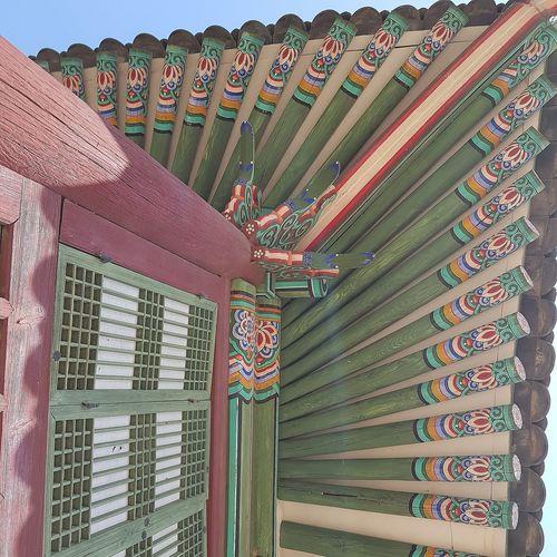 Gyeongbokgung Palace, Seoul Joseon Dynasty 5 Centuries Palace Architecture Seoul Tripwithson2017 Southkorea