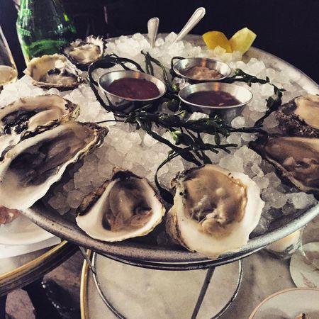 Seafood Oysters Austern New York Foodporn Super Fresh